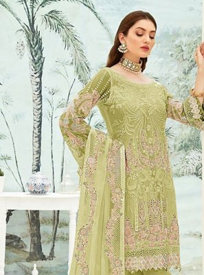 Embroidered Ceremonial Pant Style Suit