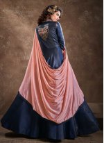 Embroidered Ceremonial Readymade Anarkali Suit