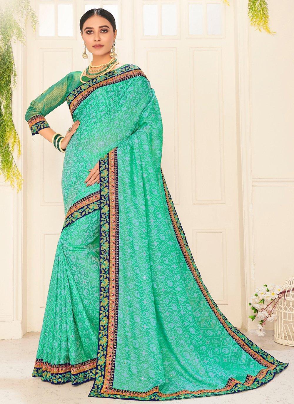 Embroidered Ceremonial Traditional Designer Saree