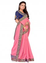 Embroidered Ceremonial Traditional Designer Saree