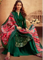 Embroidered Ceremonial Trendy Salwar Kameez