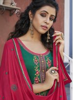 Embroidered Cotton Designer Patiala Suit