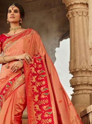 Embroidered Designer Traditional Saree