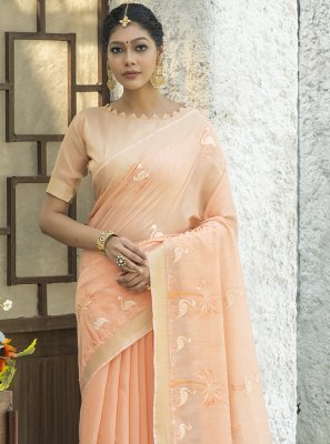 Embroidered Engagement Classic Designer Saree