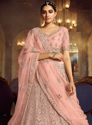Embroidered Engagement Lehenga Choli
