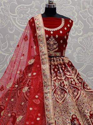 Embroidered Engagement Lehenga Choli