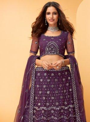 Embroidered Engagement Trendy Lehenga Choli