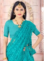 Embroidered Engagement Trendy Saree
