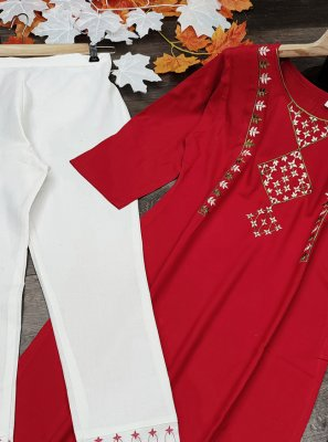 Embroidered Festival Designer Kurti