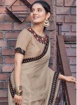 Embroidered Festival Designer Saree