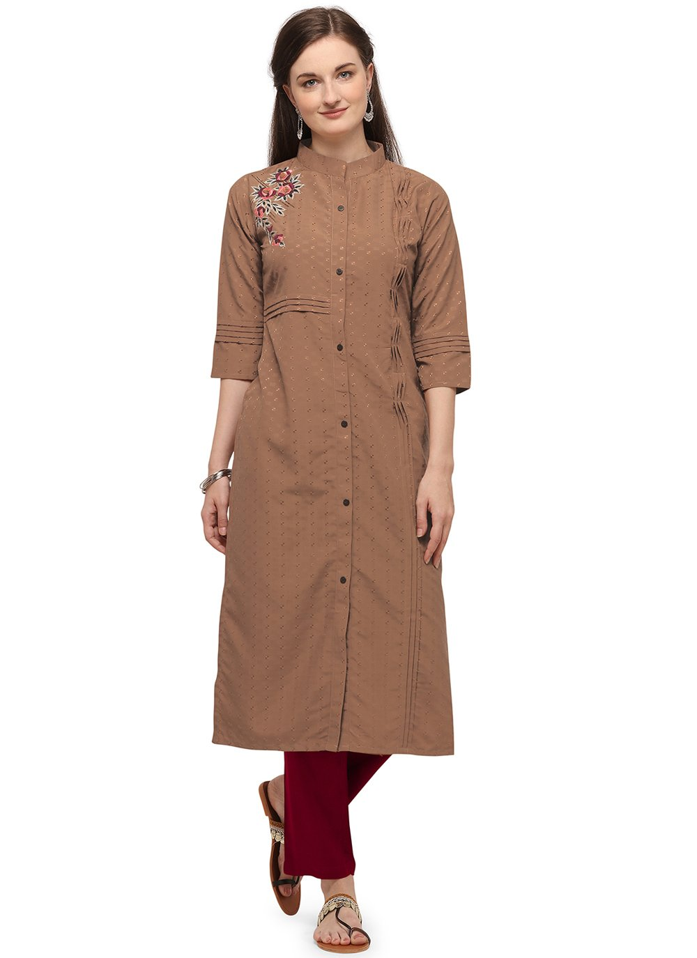 Embroidered Festival Party Wear Kurti