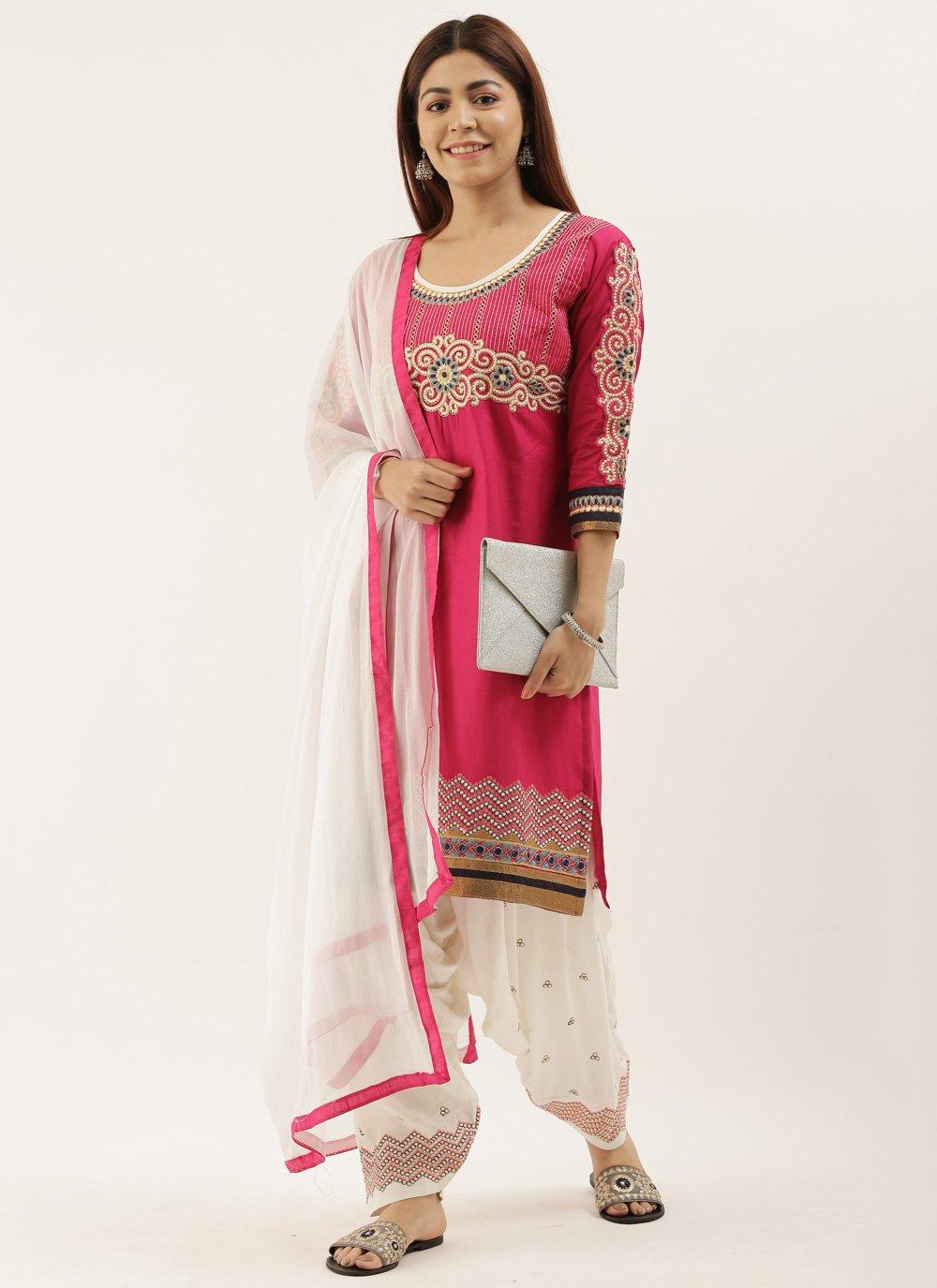 Embroidered Festival Punjabi Suit