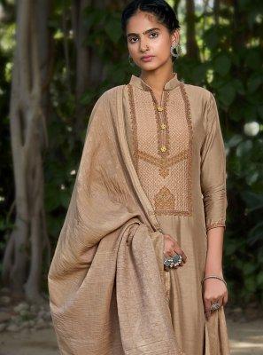 Embroidered Muslin Designer Pakistani Suit