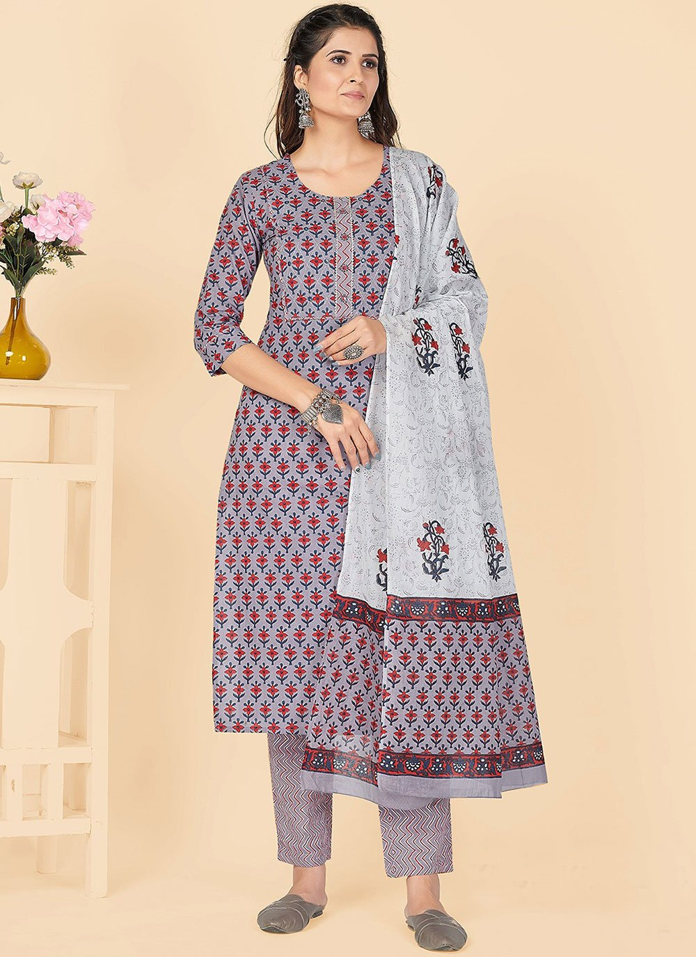 Embroidered Party Bollywood Salwar Kameez