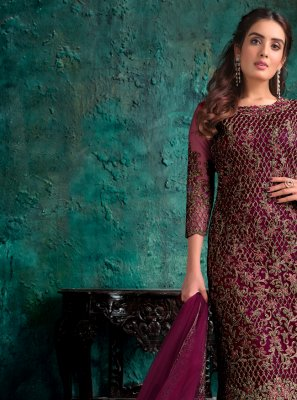 Embroidered Sangeet Designer Pakistani Suit