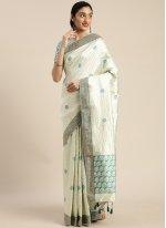 Embroidered Sangeet Traditional Designer Saree