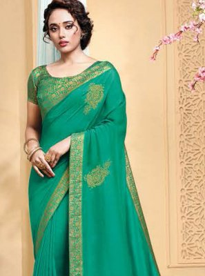 Embroidered Traditional Designer Saree
