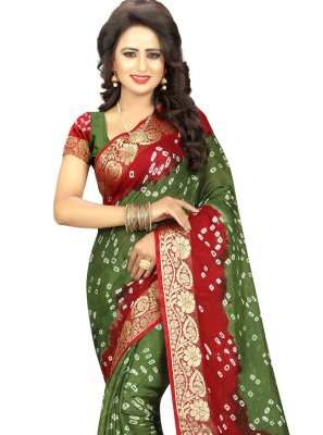 Fancy Art Silk Designer Traditional Saree