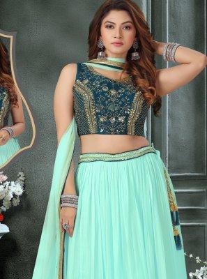 Fancy Art Silk Readymade Lehenga Choli