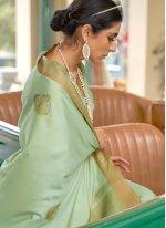 Fancy Banarasi Silk Designer Traditional Saree