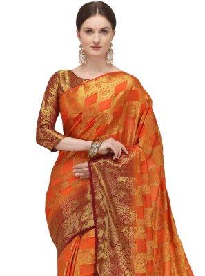Fancy Banarasi Silk Traditional Designer Saree