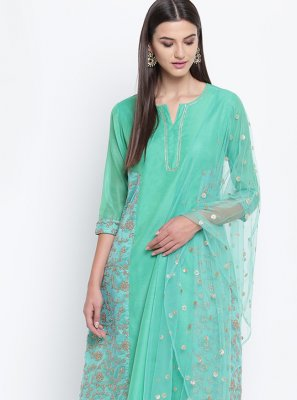 Fancy Chanderi Party Wear Kurti