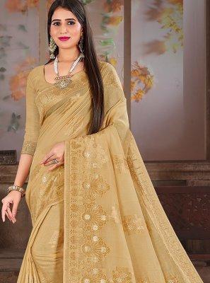 Fancy Cotton Silk Designer Traditional Saree