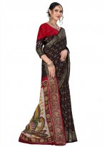 Fancy Fabric Black Traditional Saree