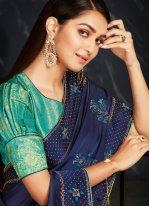 Fancy Fabric Ceremonial Classic Designer Saree