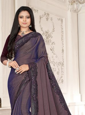 Fancy Fabric Ceremonial Designer Saree