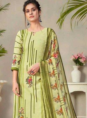 Fancy Fabric Designer Palazzo Salwar Kameez