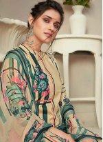 Fancy Fabric Digital Print Designer Palazzo Salwar Kameez