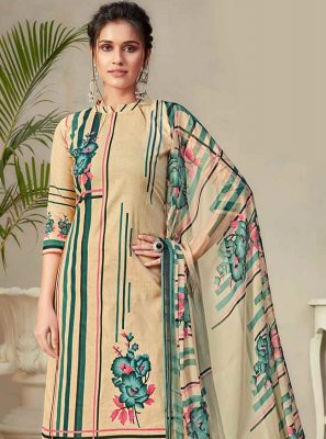 Fancy Fabric Digital Print Designer Palazzo Salwar Kameez