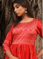 Fancy Fabric Fancy Designer Gown