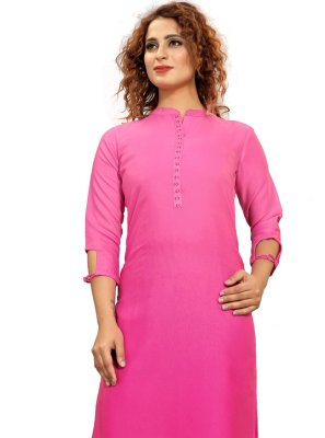 Fancy Fabric Fancy Party Wear Kurti