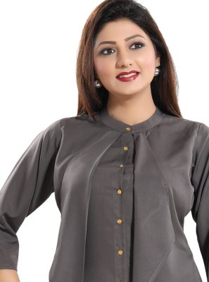 Fancy Fabric Festival Casual Kurti