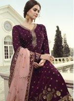 Fancy Fabric Festival Designer Pakistani Suit