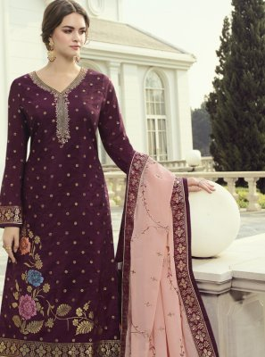 Fancy Fabric Festival Designer Pakistani Suit