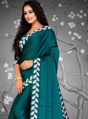 Fancy Fabric Green Designer Traditional Saree