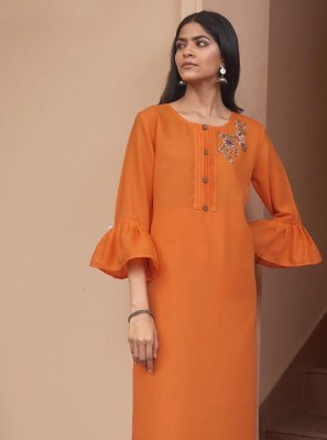 Fancy Fabric Party Wear Kurti
