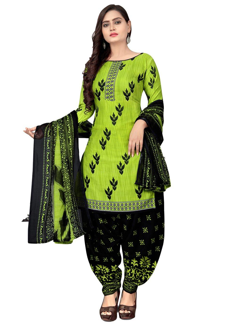 Fancy Fabric Patiala Suit