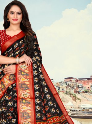 Fancy Fabric Printed Saree