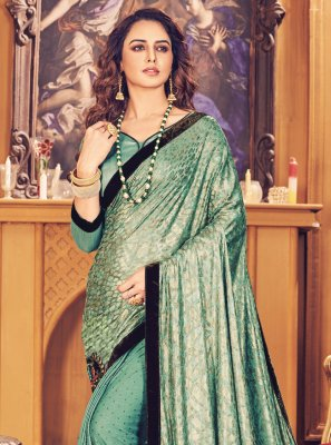 Fancy Fabric Rama Fancy Classic Saree