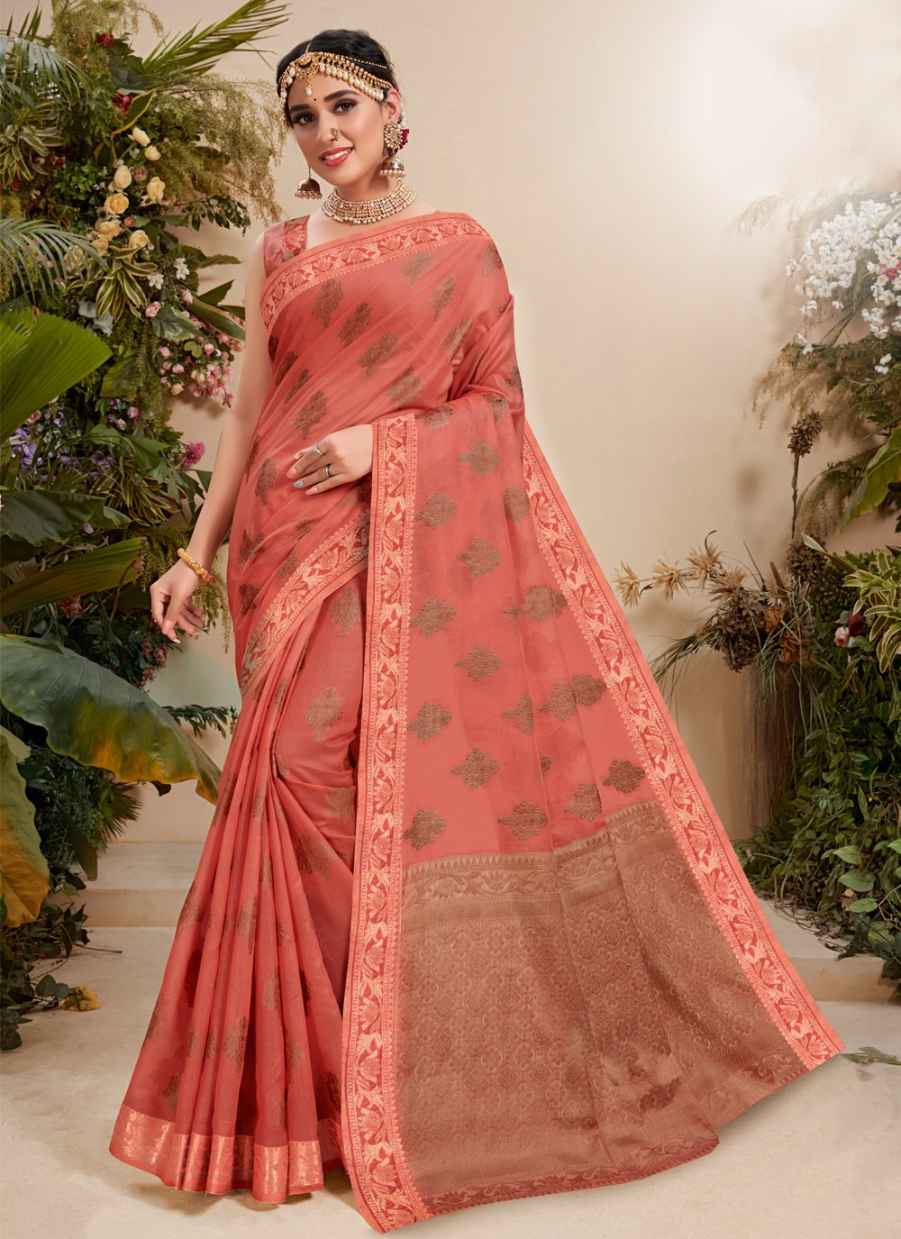 Fancy Fabric Resham Traditional Designer Saree