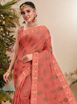 Fancy Fabric Resham Traditional Designer Saree