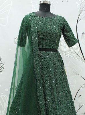 Fancy Fabric Sangeet Lehenga Choli