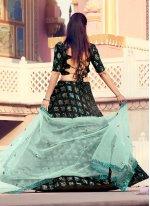 Fancy Fabric Sequins Lehenga Choli