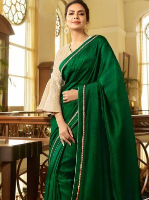Fancy Fabric Trendy Saree