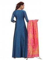 Fancy Festival Floor Length Anarkali Suit