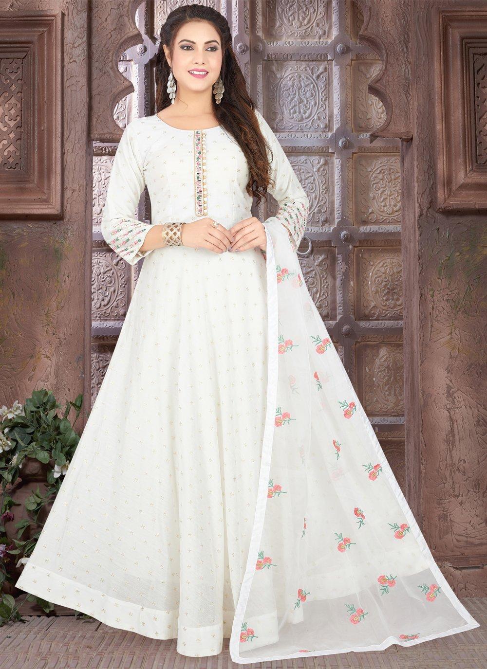 Fancy Floor Length Anarkali Suit
